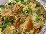 Bone-In Chicken Biryani (Rice cooked with Chicken)